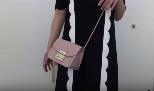 сумка Furla на девушке