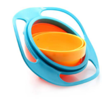 Детская тарелка «непросыпайка» Gyro Cup
