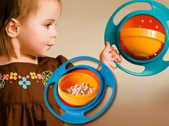 """Детская тарелка """"непросыпайка"""" Gyro Cup"""