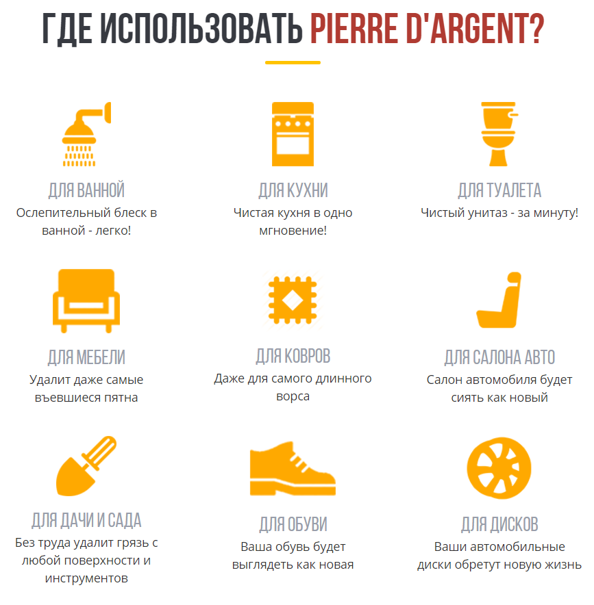Чистящее средство Pierre dArgent