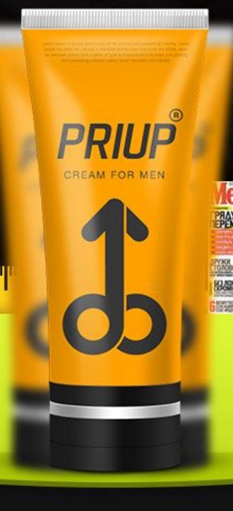 Крем для увеличения члена Priup