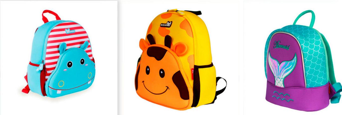 Детские рюкзаки Nohoo