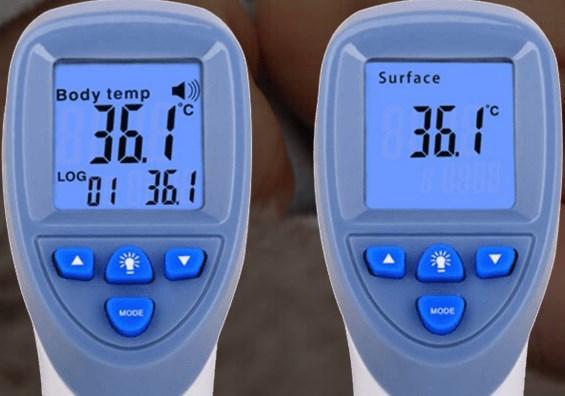 Термометр бесконтактный медицинский1