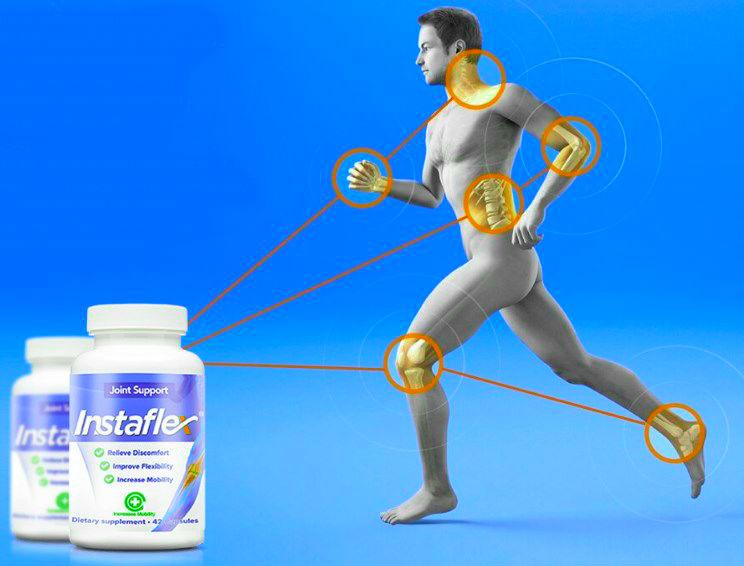 Капсулы для здоровья суставов Instaflex3