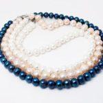 Ожерелье из натурального жемчуга