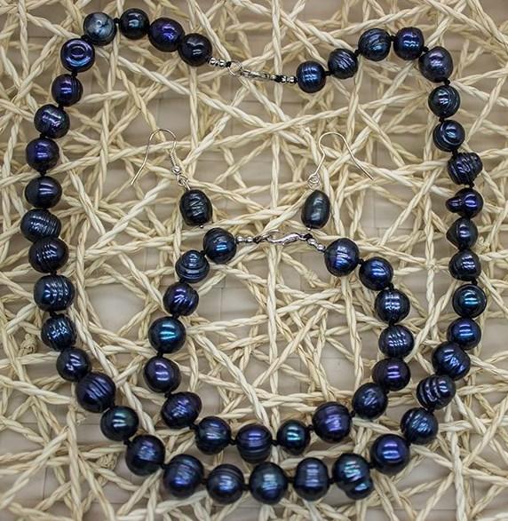 Ожерелье из натурального жемчуга4