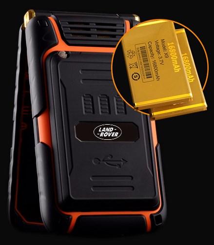 Телефон Land Rover X9 FLIP2