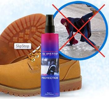 Антискользящий спрей для обуви SlipStop