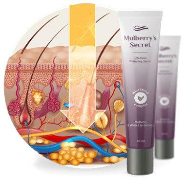 Отбеливающая сыворотка для лица Mulberrys Secret