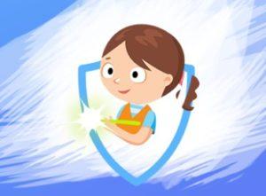 """Детский интерактивный набор для рисования в темноте """"Рисуй светом"""""""