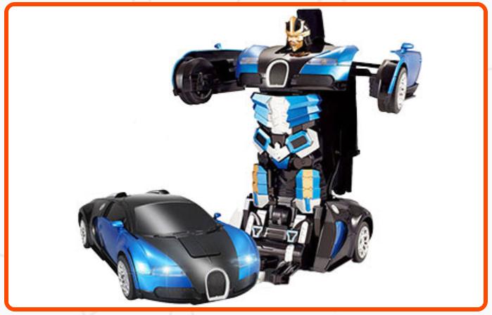Игрушка машинка трансформер Hurtling Ares