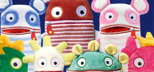 Мягкая игрушка пожиратели страха