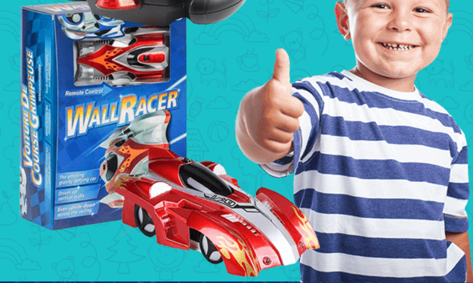 Антигравитационная машинка Wall Racer