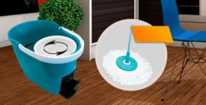 Универсальная швабра с отжимом Spin and Go