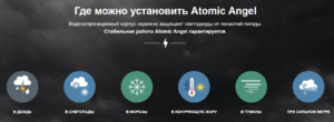 Где установить уличный светильник Atomic Angel