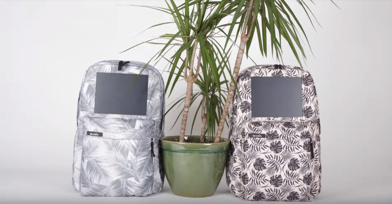 два рюкзака c солнечной батареей Birksun boost solar