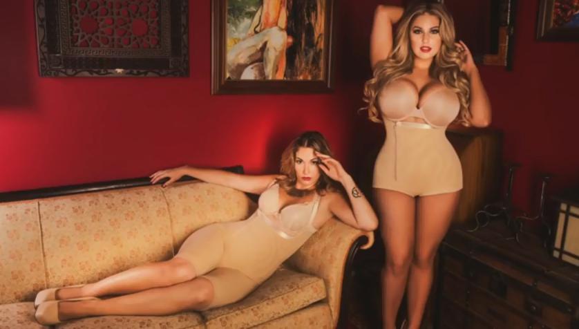 Девушки в Корректирующем белье Body Slimmer