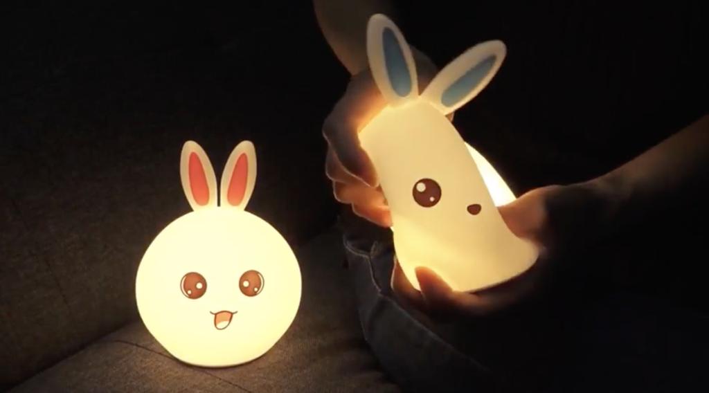 ночник светильник зайчик